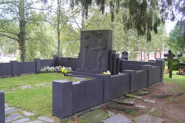 Kyösti Kallion hauta