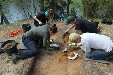 Arkeologisten kenttätöiden esittelypäivät