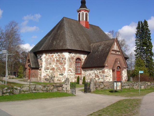Rengon Pyhän Jaakon kirkko. Kuva: Alexius Manfelt/Wikimedia Commons.