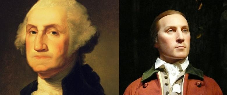 Yhdysvaltain ensimmäisen presidentin George Washingtonin mallinnuksessa käytettiin apuna muotokuvia, patsaita, kuolinnaamiota ja säilyneitä vaatteita, joiden perusteella voitiin laskea vartalon koko ja mittasuhteet. Tietotekniikan avulla muotokuvia nuorennettiin, jolloin saatiin selville Washingtonin todennäköinen nuoruuden aikainen ulkonäkö.