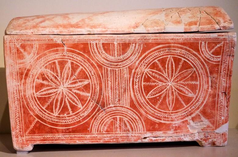 Seemiläinen ossuaario 1. vuosisadalta jaa. Israelin museossa. Kuva:  Nick Thompson/Flickr CC.