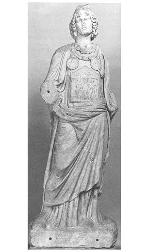 Roomalainen patsas 100-luvulta esittää naisen vaatteisiin pukeutunutta gallusta. Gallus-papit kastroivat itsensä hedelmällisyyden jumalattaren kunniaksi.