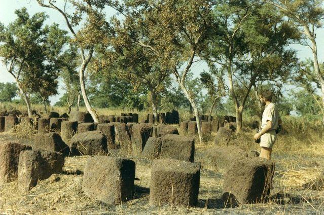 Senegambian kivikehiä vuonna 1967. Kuva: John Atherton