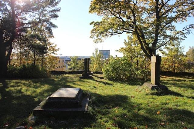 Itäharjun kolerahautausmaata. Kuva: Heli Etu-Sihvola.
