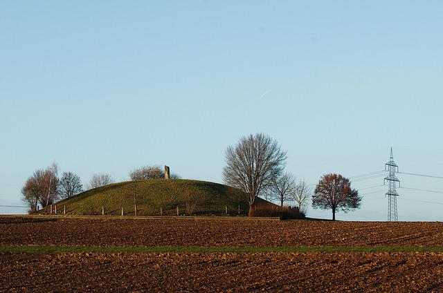 Hochdorfin hautakumpu. Kuva: Magnus Hagdorn/Flickr CC.