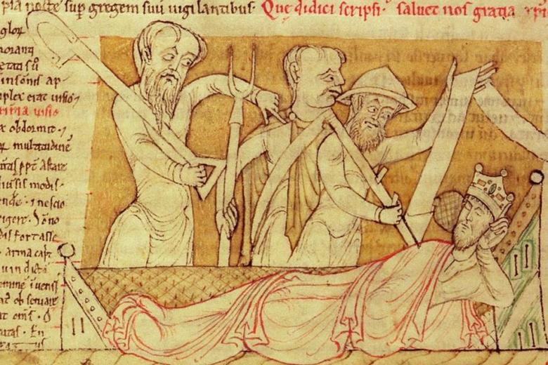Henrik I keskiaikaisessa piirroksessa.