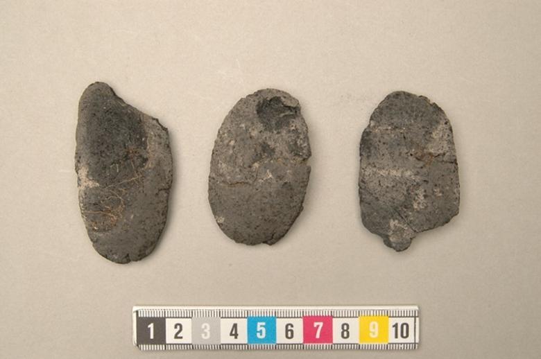 Birkan haudoista löytyneitä leipiä.