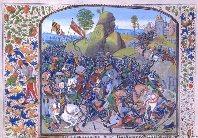 Montielin taistelua 1369.