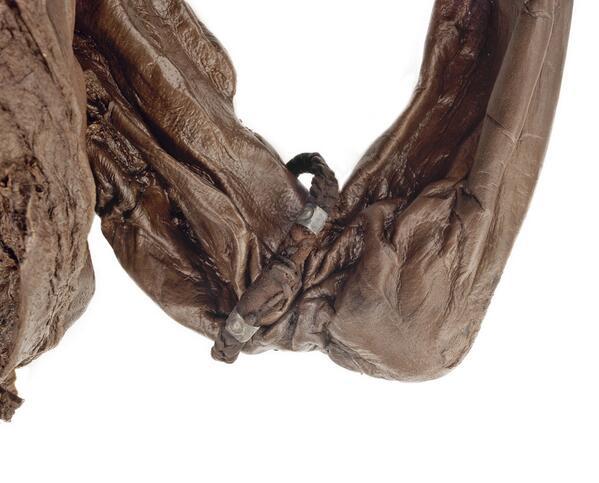 Oldcroghan-miehen käsivarren koru. Kuva: National Museum Ireland.