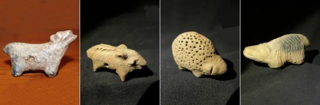 Monet sao-figuriineista ovat pieniä ja yksinkertaisia. Eläinfiguriineja on löydetty etenkin rituaalipaikoilta. Niiden oletetaan esittävän jumaluuksia tai suojelevia eläimiä. Kuvat:Mémoire d'Afrique.