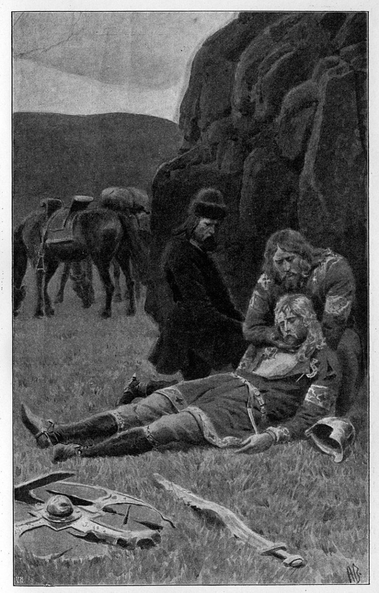 Hautaukset skandinaavissa saagoissa