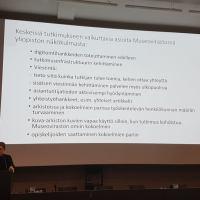 Museoviraston aineistojen tutkimus – haasteita ja tavoitteita