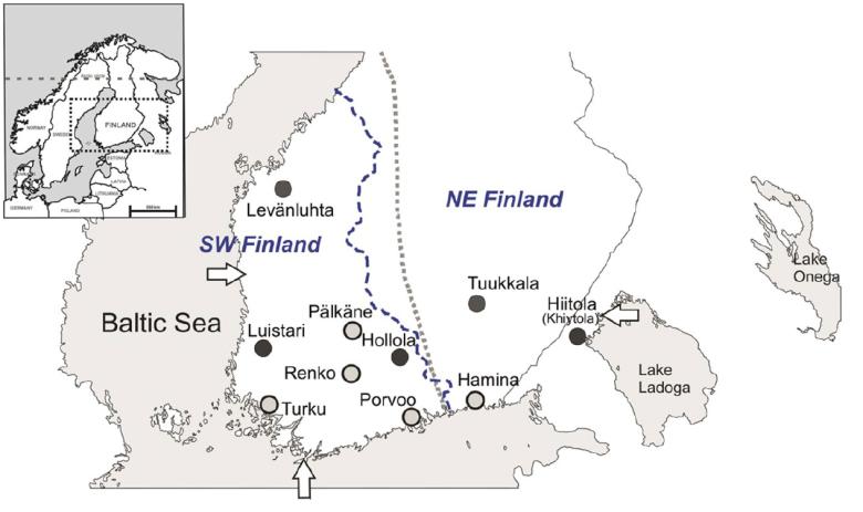 Suomen sisäinen raja