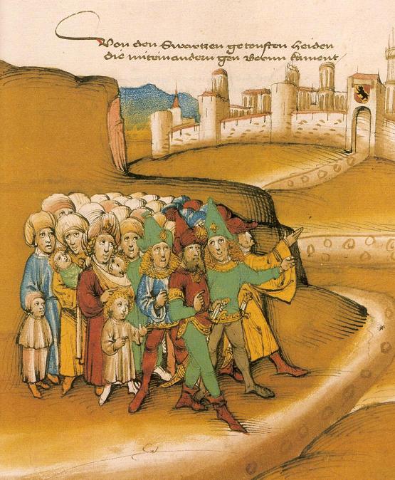 Romaneja Bernissä 1400-luvulla