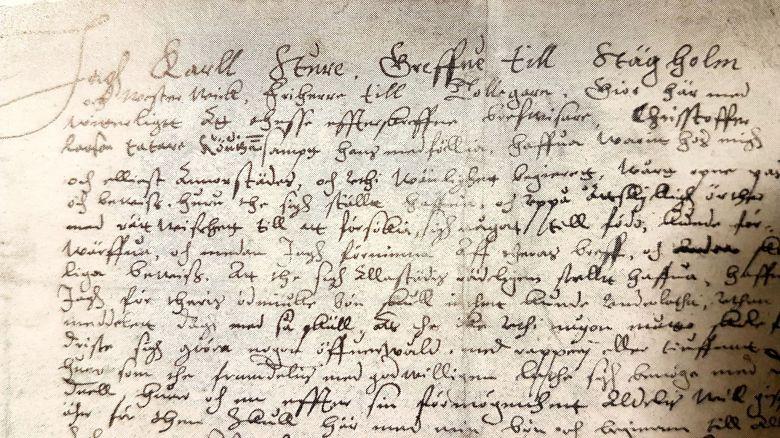 Matkapassi vuodelta 1593