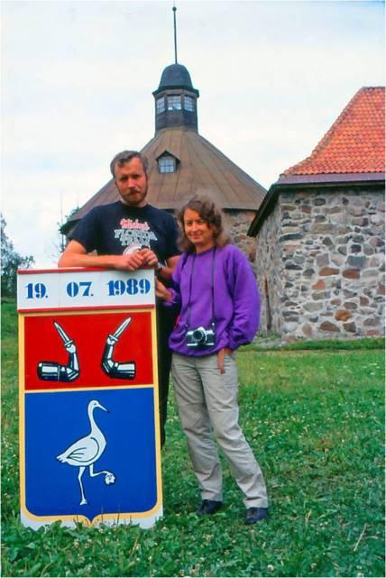 9. Saksa ja Uino 1989