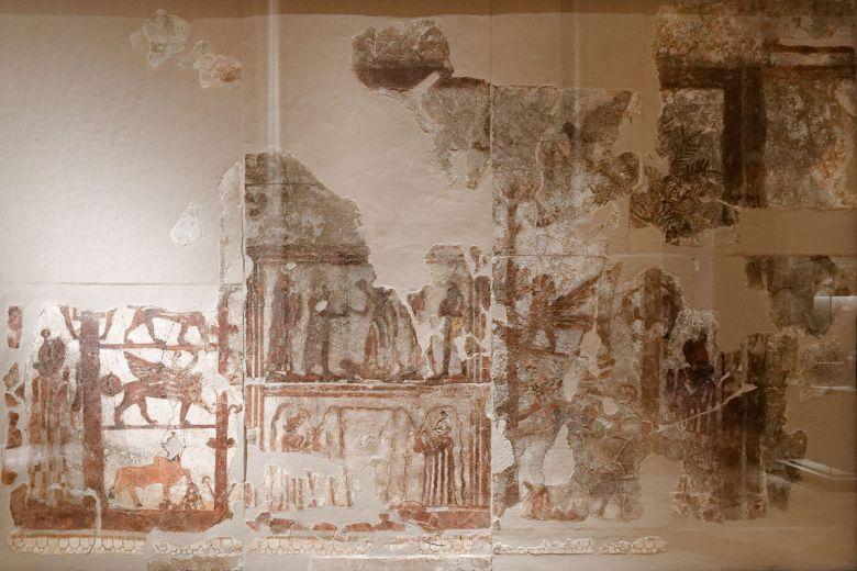 zimri-limin palatsin seinämaalauksia