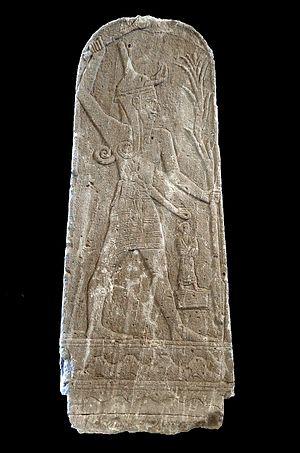 Baal Ugarit Kuva Wikimedia Commons