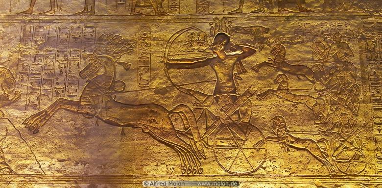 Ramses II Kadeshin taistelu Kuva Alfred Molon