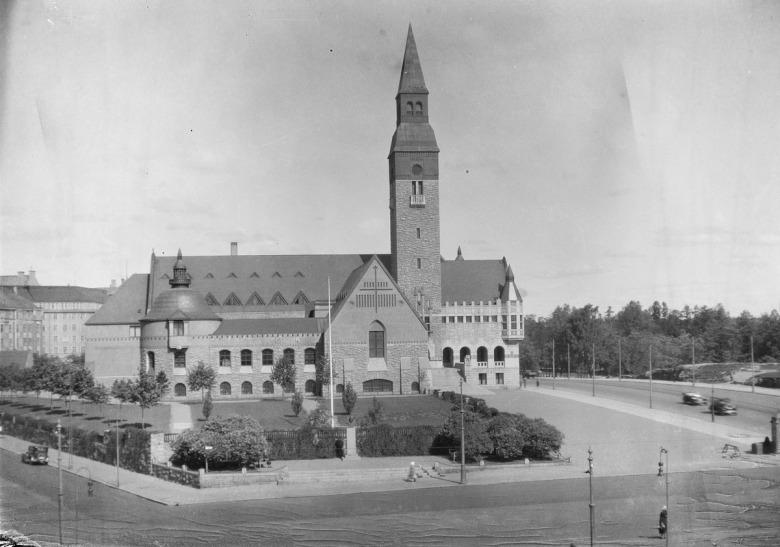 Kansallismuseo 1930-luvulla
