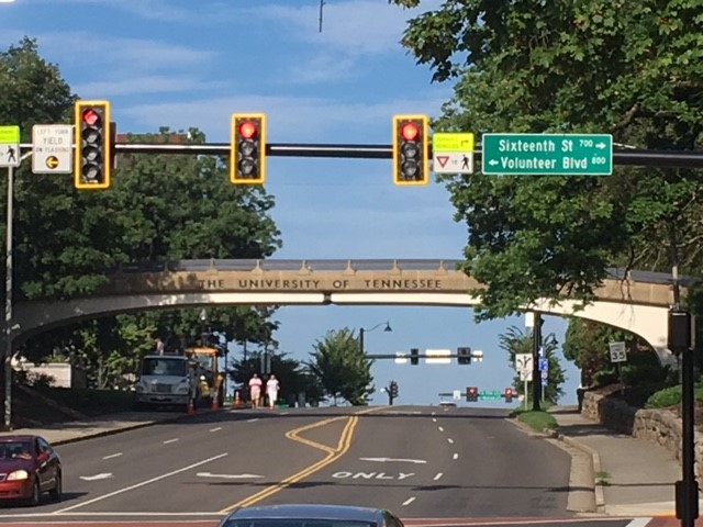 University of Tennesseen kampusalue, Knoxville. Kuva: Heli Maijanen.
