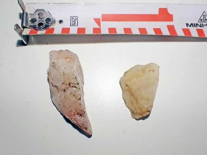 Kotka hiilihauta kvartsi-iskoksia Mikroliitti